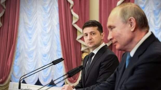 Путин обозначил роль Зеленского в политике