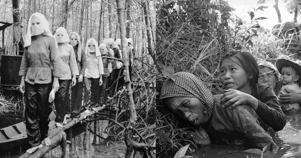 15 мрачных снимков времен войны во Вьетнаме Вьетнам, война во вьетнаме, вьетнамская война, сша