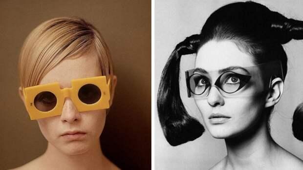 20 необычных солнцезащитных очков из прошлого