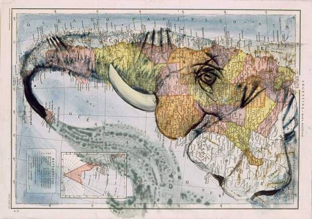 Картины на картах