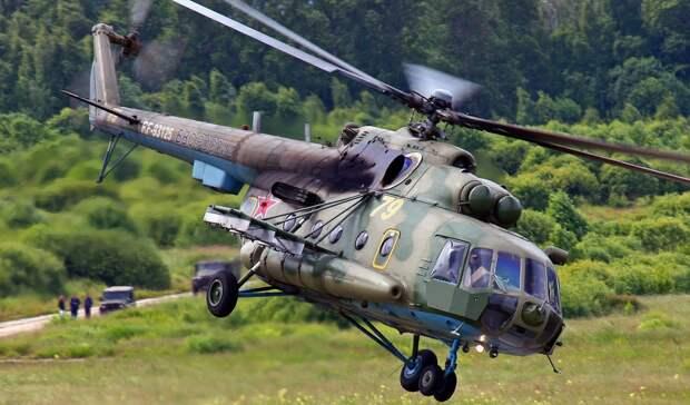 Никто из членов экипажа военного вертолета Ми-8 не выжил после жесткой посадки в Подмосковье
