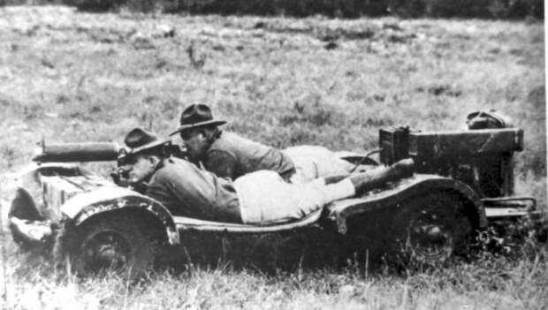 Разведывательная машина Howie Machine Gun Carrier. Жертва упрощений