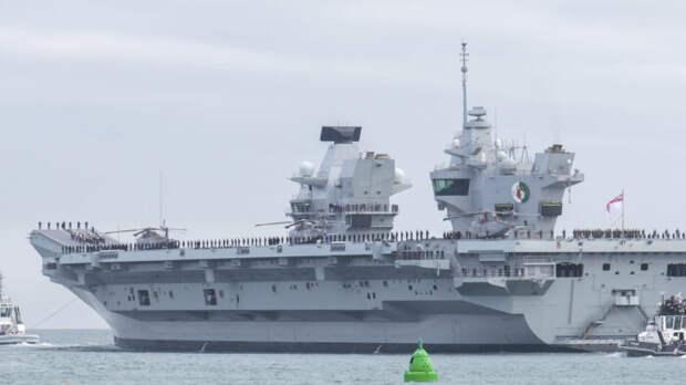 Минобороны Британии взбесил трюк России сперехватом 10 его военных кораблей