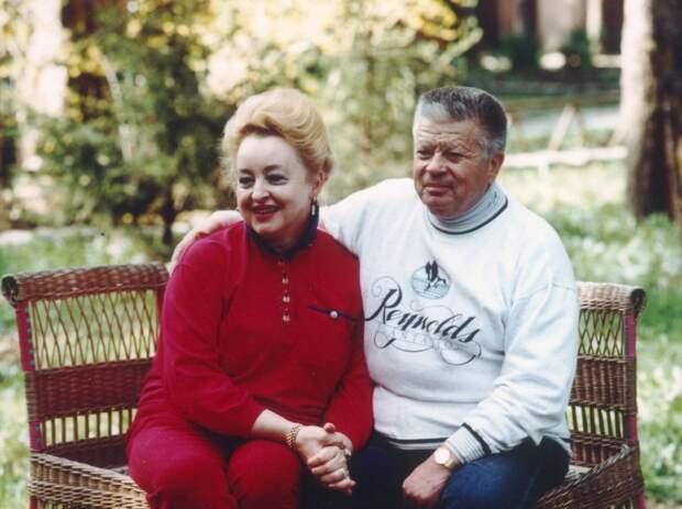 Святослав Фёдоров с женой Ирэн/ из личного архива