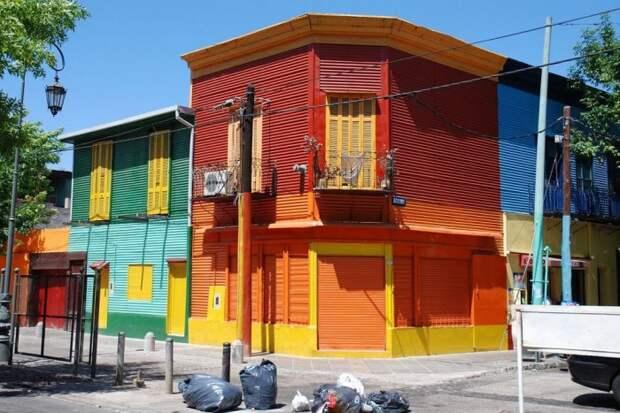 Самый разноцветный район мира