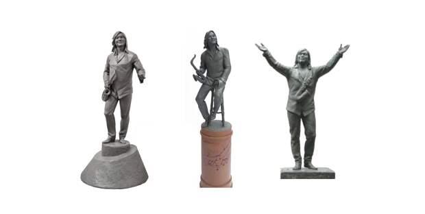 Эскизы памятника Батырхану Шукенову в день его рождения представили в Нур-Султане