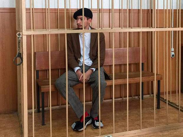 Суд арестовал акциониста Крисевича на два месяца после инцидента на Красной площади