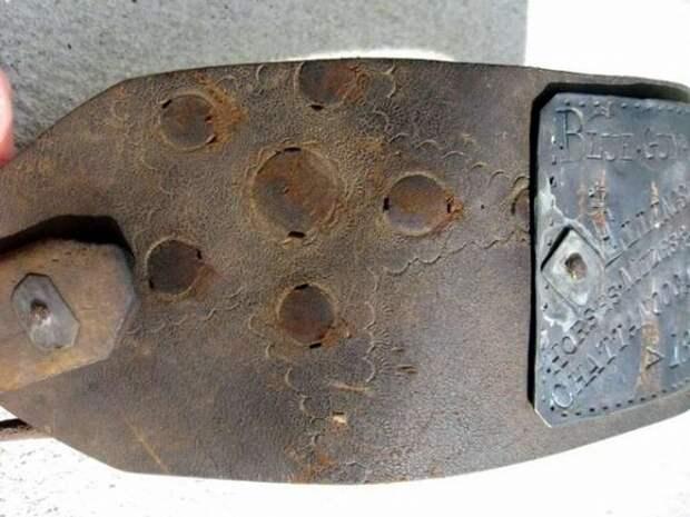 Ошейник североамериканского раба - 1854 год (2)