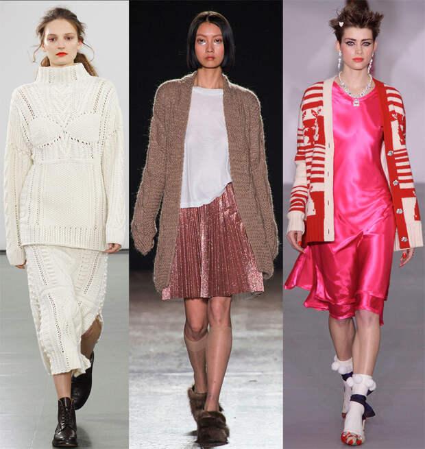 Модный женский свитер 2016-2017 – лучшие модели