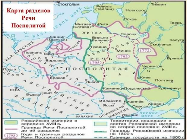 В преддверии четвертого раздела Польши