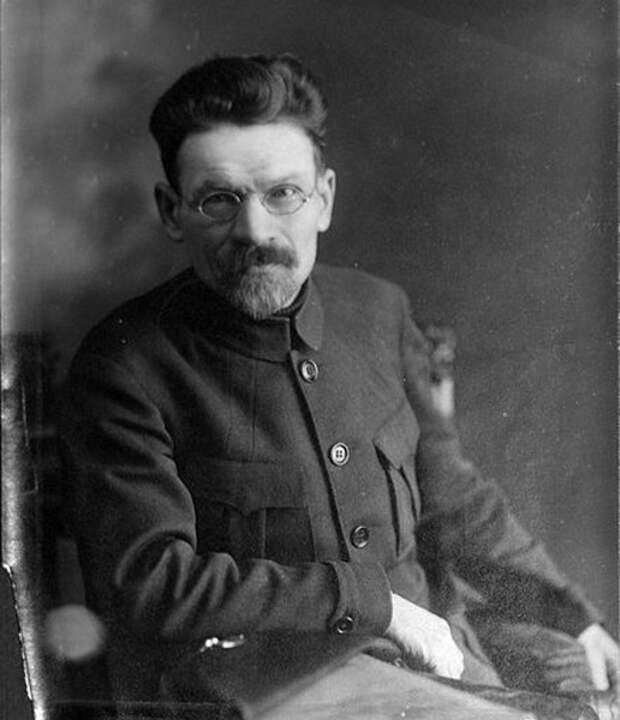 Председатель Всероссийского Центрального исполнительного комитета Михаил Калинин, 1920 год