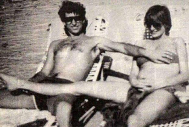 Принц Чарльз и принцесса Диана во время отдыха на Багамах в 1982 году.