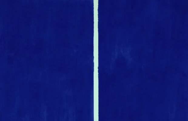 Onement VI, Барнетт Ньюман, 1953 год. \ Фото: yandex.ua.