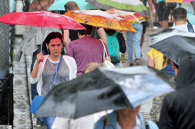 «Желтый» уровень опасности объявили в Московском регионе до 13 июня