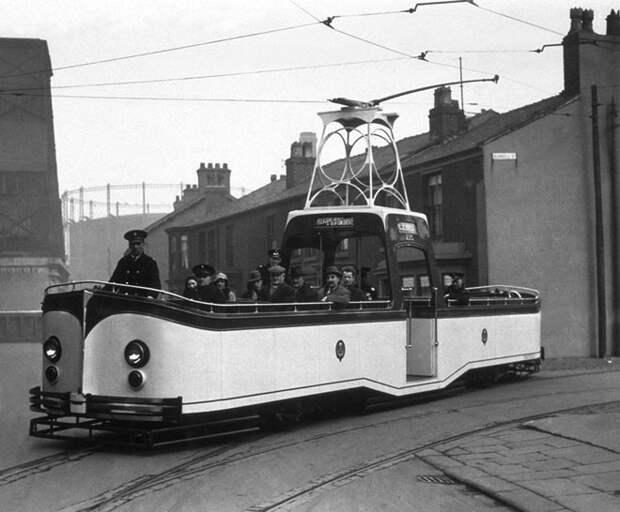 Экспериментальный трамвай, 1934 год авто, мото, ретро