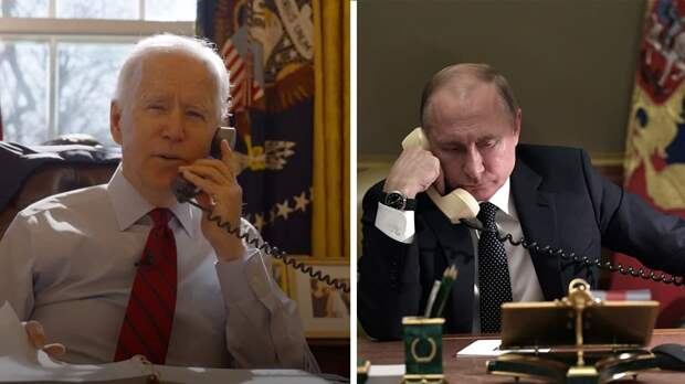 Байден и Путин обсудили Украину