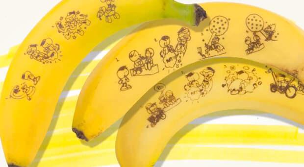 Бананы-комиксы помогают детям полюбить фрукты