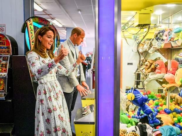 Принц Уильям и Кейт Миддлтон в Южном Уэльсе