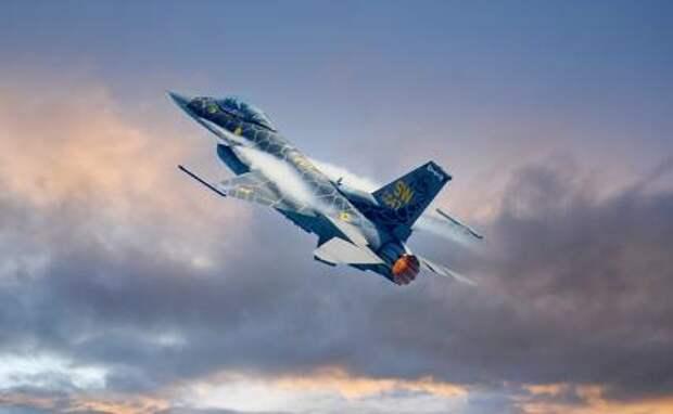 F-16 сбил Су-35 в небе над Турцией