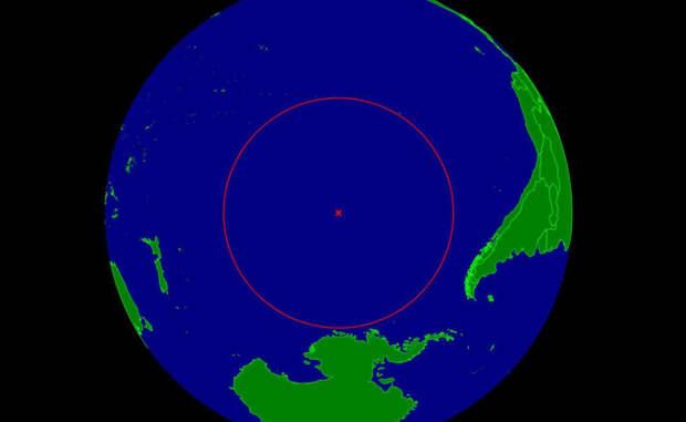 Самое удаленное место планеты: почти невозможно добраться