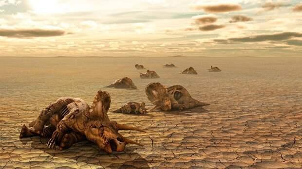 36 000 гигатонн углерода было выброшено в атмосферу в период массового вымирания