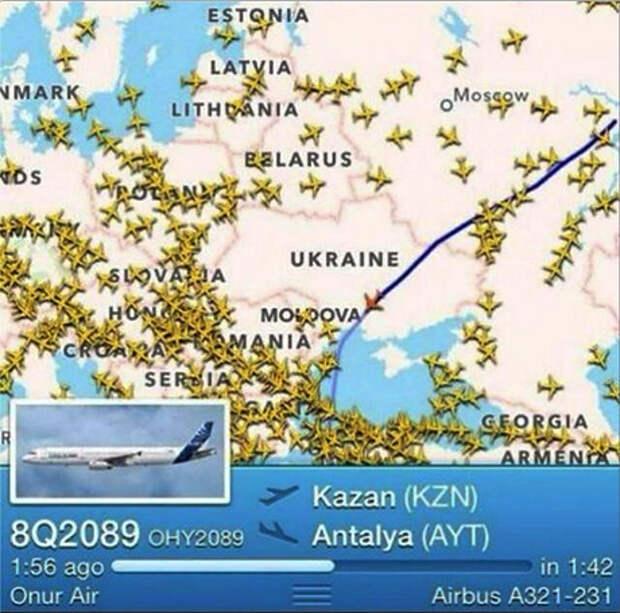 Казань включилась в спор, чье небо над Крымом