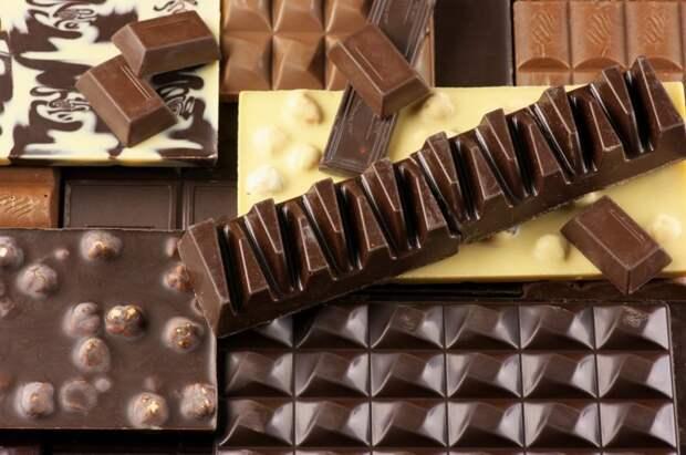 Шоколад продукты, способы хранения продуктов, холод, холодильник, хранение