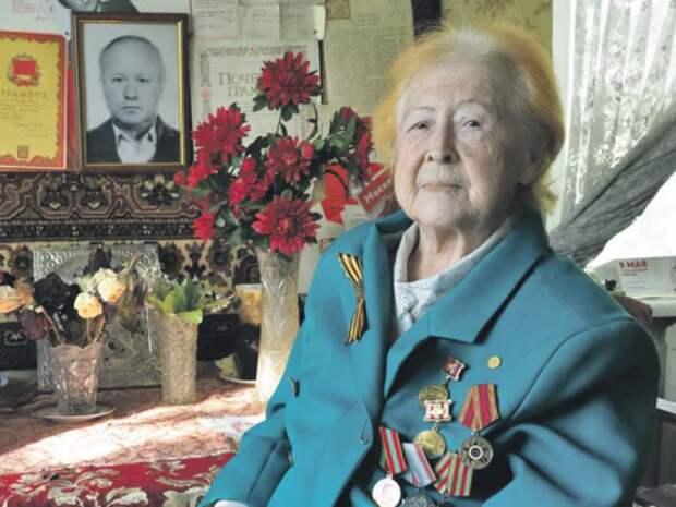 Ветеран из Щукина поделилась воспоминаниями о войне