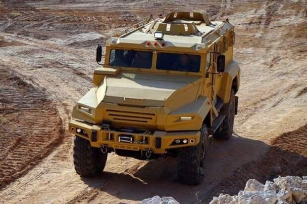 Россия испытала новейший бронеавтомобиль «ВПК-Урал» на Ближнем Востоке