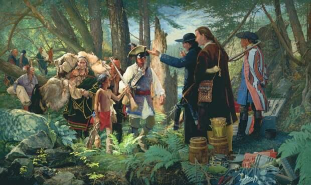 Карательная экспедиция и бесславный конец американского полковника. 1782 г.