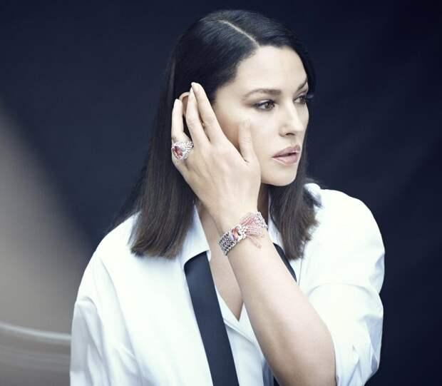 Новая фотосессия роскошной итальянки  Моники Беллуччи.