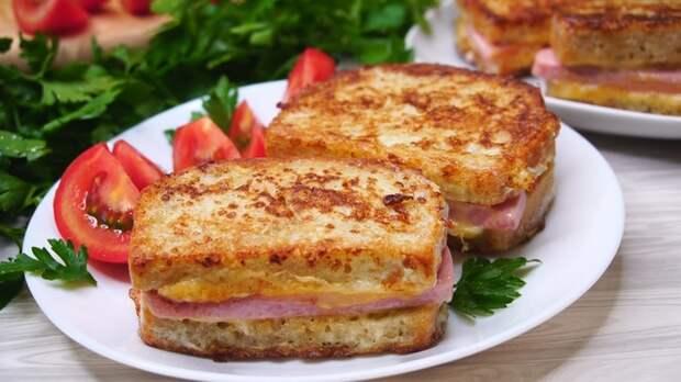 Гренки на завтрак Гренки, Рецепт, Видео рецепт, Видео