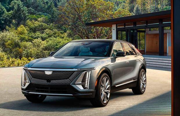 Cadillac показал серийный электромобиль Lyriq
