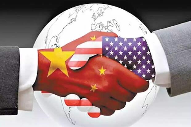 КНР США