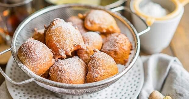 Рецепт итальянских пышных пончиков: 10минут— иготово!