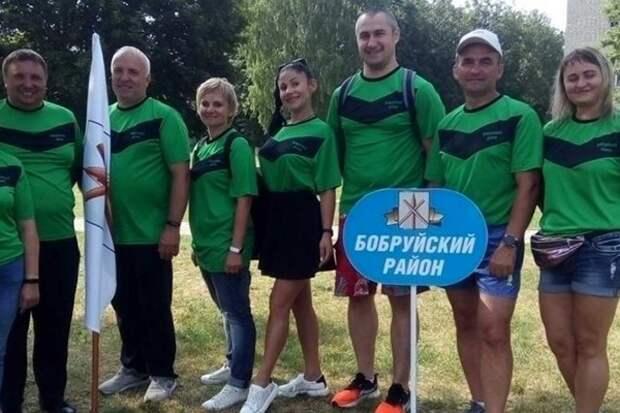 Соревновались депутаты района.
