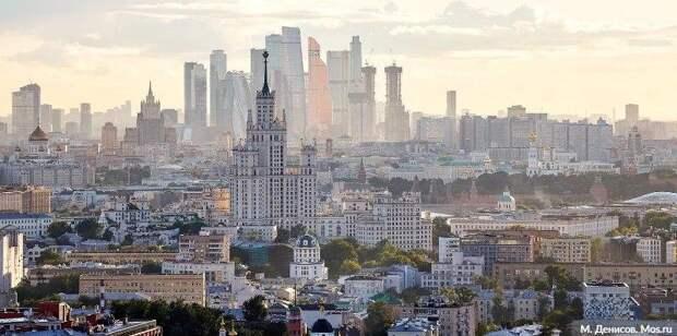 Самый динамично развивающийся мегаполис - Саркози о Москве/Фото: М. Денисов mos.ru