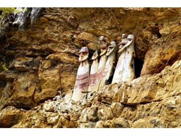 Чачапойя - светлокожие гиганты Южной Америки, принявшие у себя русского Иисуса Христа