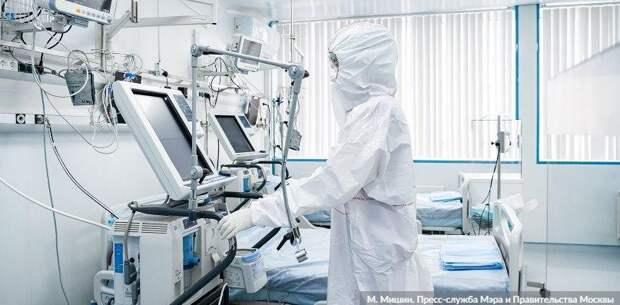За сутки в Москве зарегистрировано 4082 новых заболевших COVID-19
