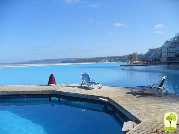 Самый большой бассейн в мире - Сан Альфонсо дель Мар, Чили - 7