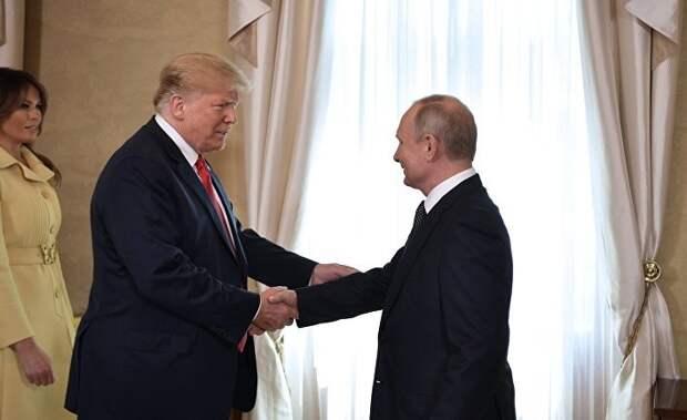 Washington Examiner: загадочная встреча Трампа и Путина в Париже