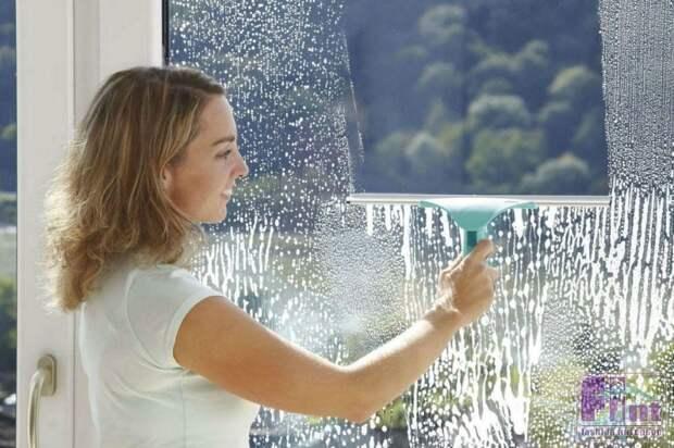 Чистим стекла без разводов