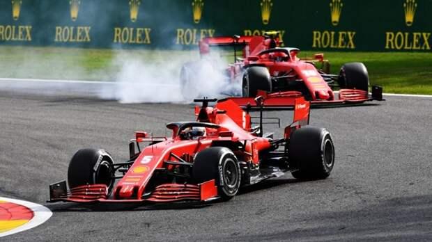 ГП Бельгии: победа Mercedes, провал Ferrari
