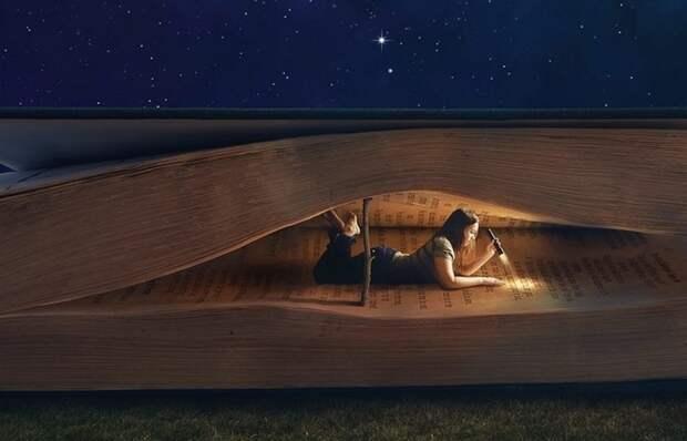 Книги, которые читаются на одном дыхании за ночь.