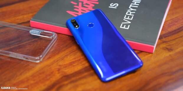 Realme C3 первым получит процессор Helio G70