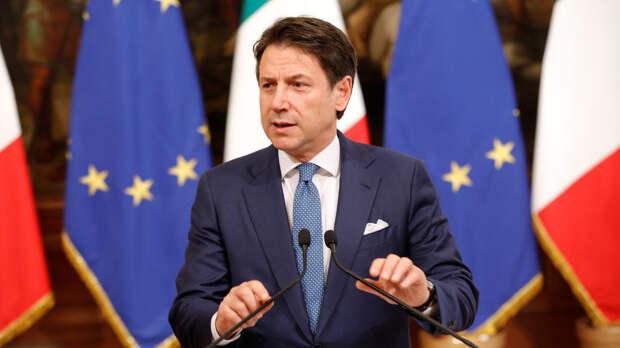 Президент Италии поручил Конте сформировать новое правительство