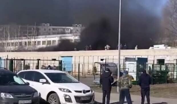 ВКазани загорелся склад спортивной школы