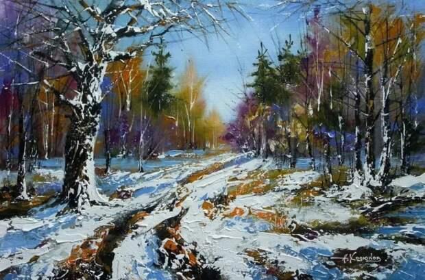художник Александр Ходюков картины – 16