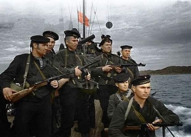 Морская пехота Северного флота. Великая Отечественная война, СССР, история