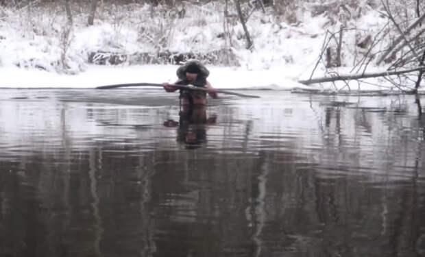 Как перейти реку зимой